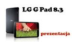 LG G Pad 8.3 - pierwszy tablet w ofercie LG od czasów Optimus`a