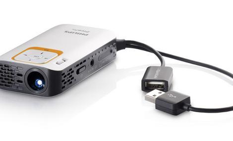 Philips PicoPix 2330 projektor kieszonkowy [ROZPAKOWANIE]