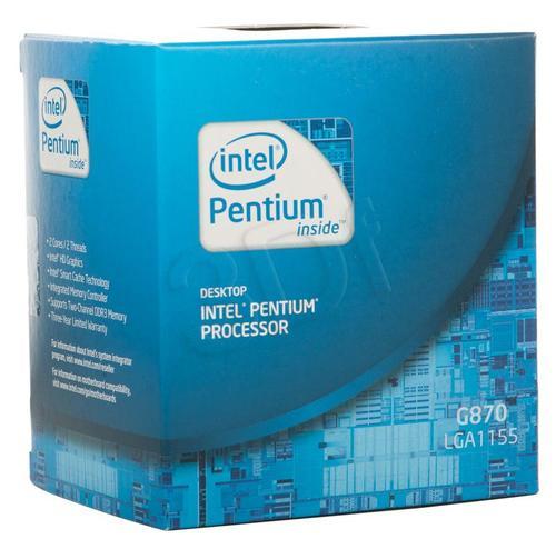PENTIUM G870 3.1GHz/3MB LGA1155 BOX