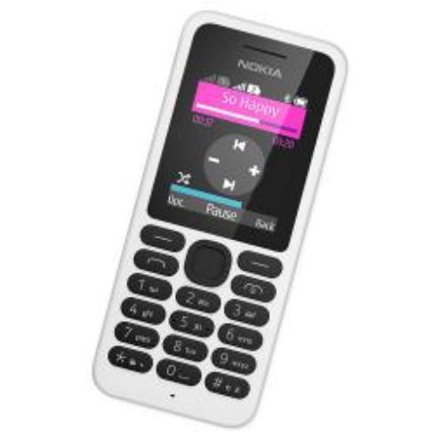 Telefon komórkowy Nokia 130 Dual SIM Biała (A00021158)