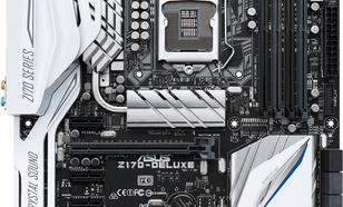 Płyta główna Asus Z170-DELUXE, Z170, QuadDDR4-2133, SATAe, SATA3, HDMI, DP, USB 3.1, ATX (Z170-DELUXE)
