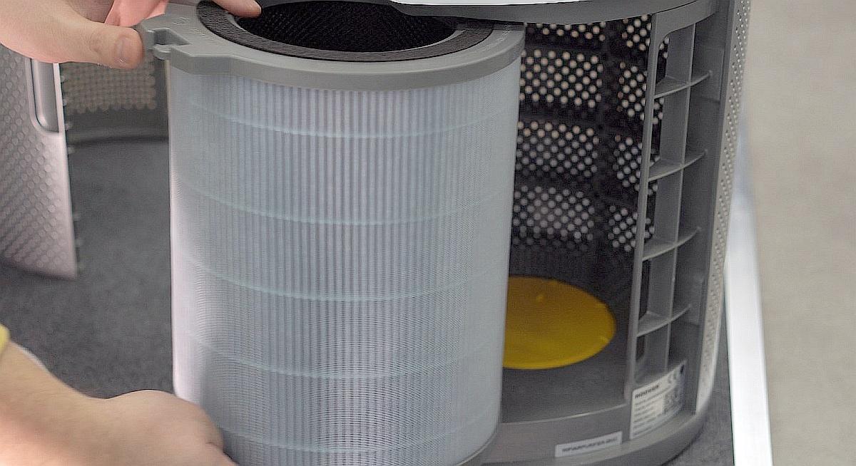 Filtr HEPA H13 oczyszcza powietrze z 99,97% zanieczyszczeń