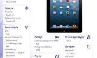 Apple iPad z wyświetlaczem Retina Wi-Fi + Cellular 16GB Czarny MD522