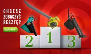 TOP 10 Odkurzaczy Ogrodowych - Ranking Lipiec 2015