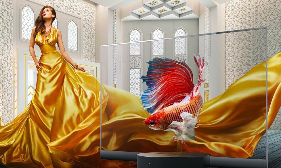 Przezroczysty telewizor od Xiaomi za 27 tysiecy złotych
