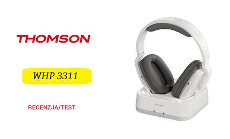 Thomson WHP 3311 - Niedrogie Słuchawki Bezprzewodowe do TV