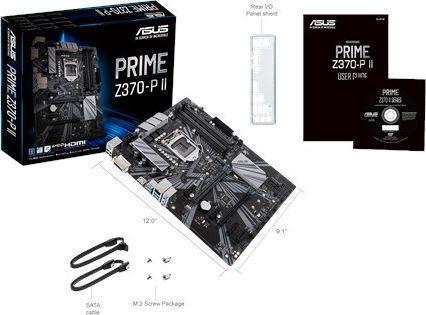 Asus PRIME Z370-P II (90MB0ZZ0-M0EAY0)