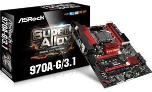 ASRock 970A-G/3.1 AMD3+ AMD970 4DDR3 /USB3.0 ATX