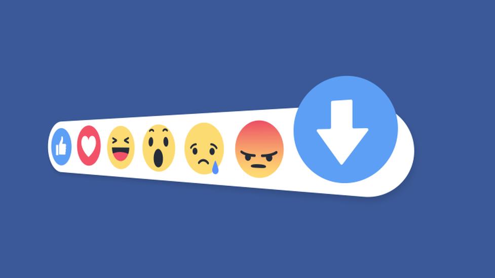 """Więcej przycisku """"downvote"""" na Facebooku"""