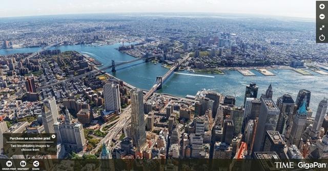 Nowy Jork Z Bliska, Dzięki Spektakularnej Panoramie!