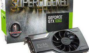 EVGA GeForce GTX 1060 SC Gaming 3GB GDDR5 (192 Bit) DVI, HDMI, 3xDP, BOX (03G-P4-6162-KR)