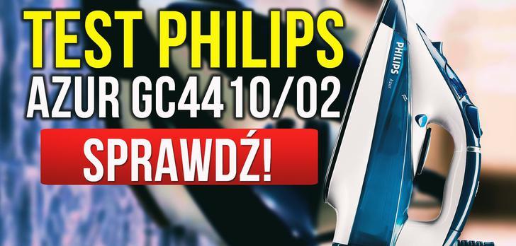 Test Philips Azur GC4410/02 - Sprawdzamy Popularne Żelazko