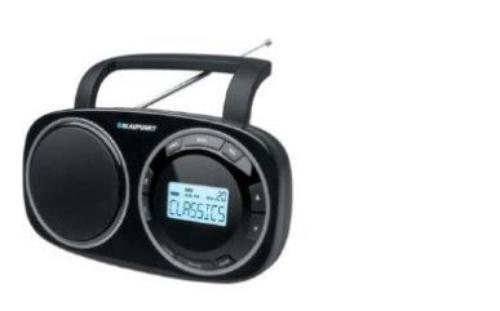 Blaupunkt BTA 9000 CZARNY RADIO CYFROWE