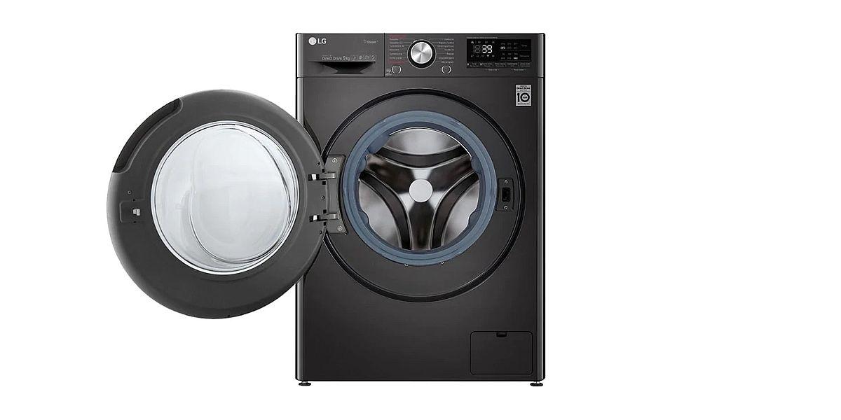 nowoczesna pralka firmy LG