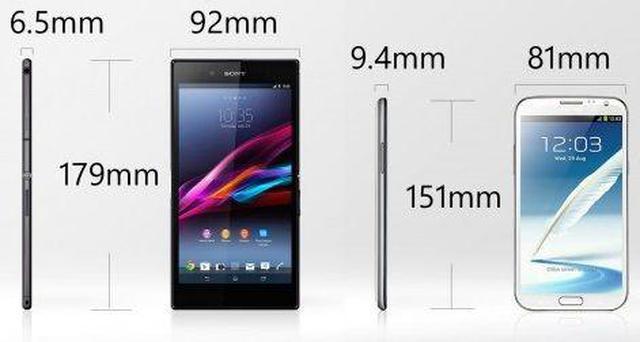 Sony Xperia Z Ultra fot1