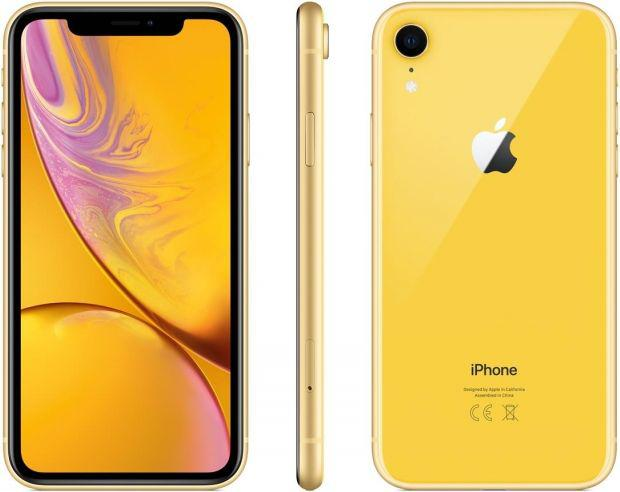 Apple iPhone XR 256GB Żółty (MRYN2PM-A)