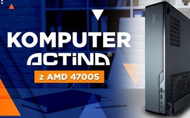 Komputer biurowy Actina z procesorem AMD 4700S - Prawie jak PS5!