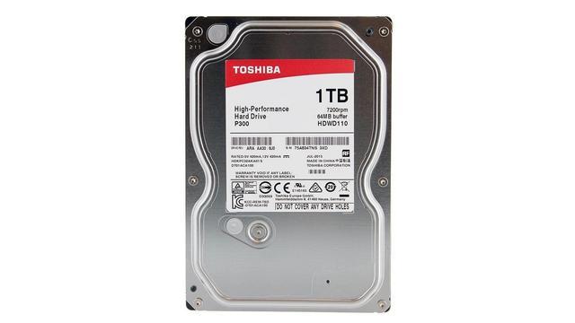 TOP 5 Dysków HDD - Toshiba P300