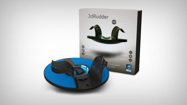 3D Rudder na PSVR