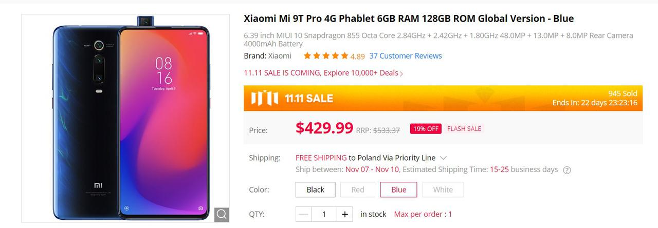 Xiaomi Mi 9T Pro to urządzenie o mocy flagowca