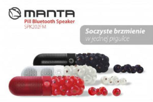 Manta Pill FM Bluetooth Speaker