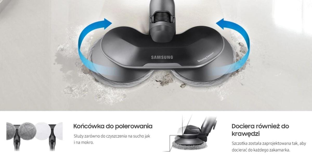 Samsung Jet 90 premium VS20R9048T3/GE końcówka do polerowania