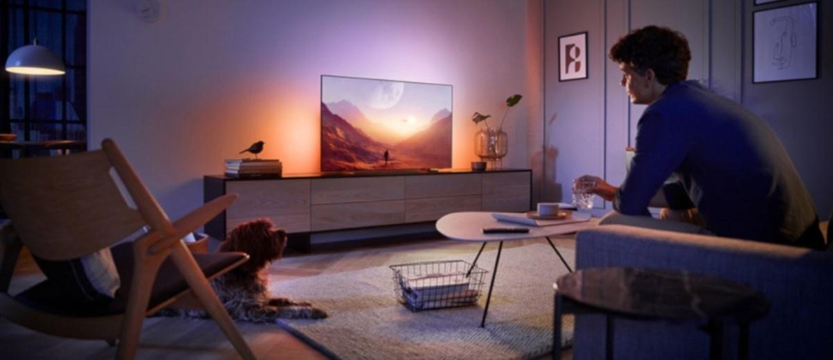 Philips 55OLED804 w salonie