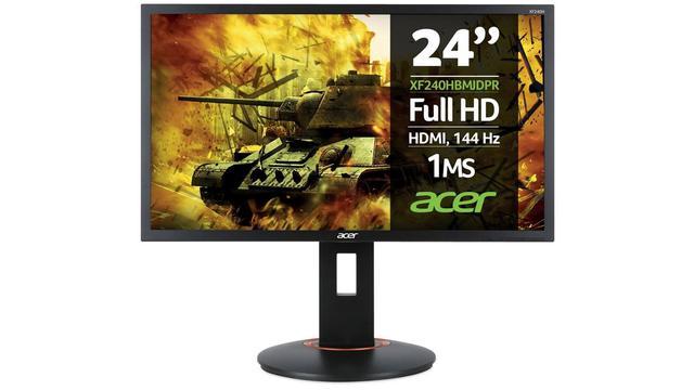 Ranking monitorów dla graczy do 1000 zł na 2018 rok - Acer XF240Hbmjdpr