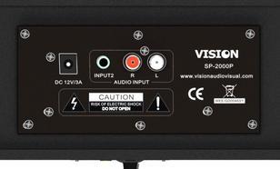 Vision SP-2000P czarny SOUNDBAR/30W RMS/4ohm