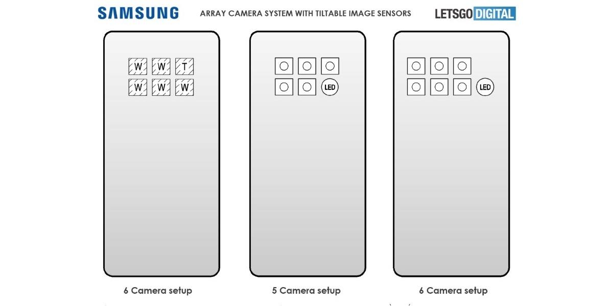 Samsung może zaoferować aż 6 aparatów z tyłu urządzenia