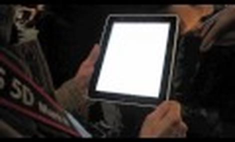iPad - zabawa z tabletem Apple