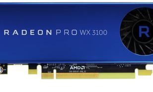 AMD Radeon Pro WX 3100 4GB GDDR5 (256 Bit) 1xDP, 2x Mini DP