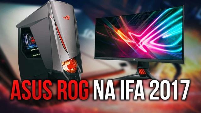 ASUS Republic of Gamers - Świetny Sprzęt Dla Graczy z IFA 2017
