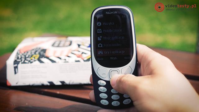 Nokia 3310 Gry i Aplikacje