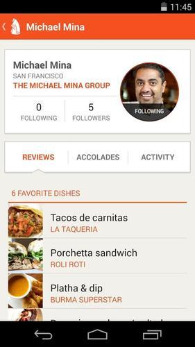 Aplikacja Chefs Feed