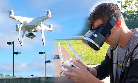 Epson Moverio - Wyścigi Dronów w Rzeczywistości Rozszerzonej!