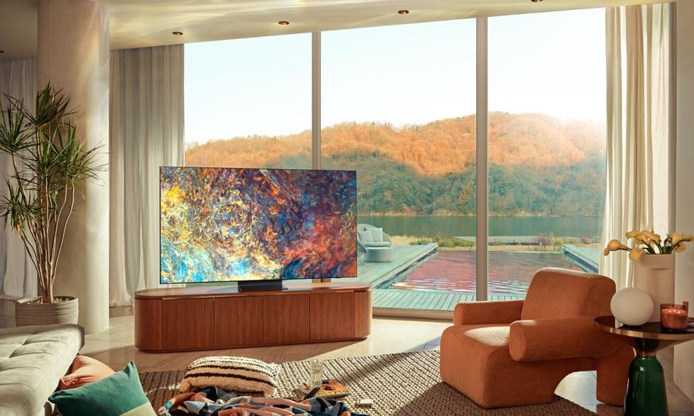 Nowe telewizory QLED Samsunga oraz piloty na baterie słoneczne