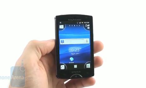 Sony Ericsson Xperia mini - prezentacja telefonu