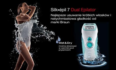 Braun Silk-épil 7 - czołowe depilatory na rynku