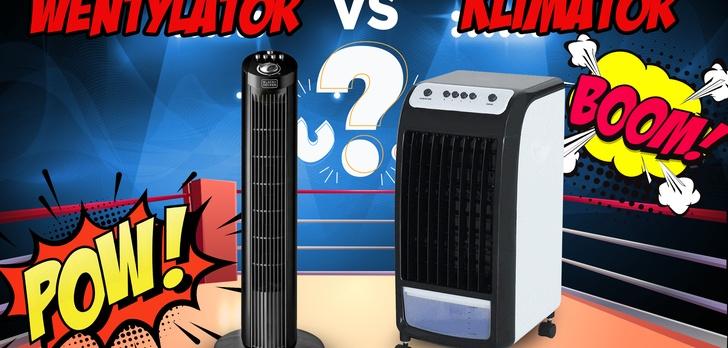 Klimatyzer vs. Wentylator kolumnowy - Ravanson KR-2011 kontra Black&Decker BXEFT46E