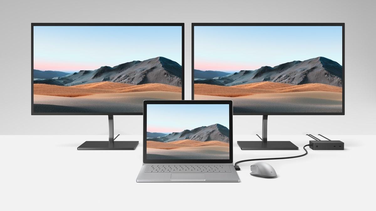 Tak prezentuje się system Surface Dock 2