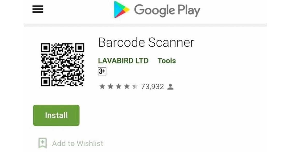 Aplikacja Barcode Scanner zniknęła już z Google Play Store