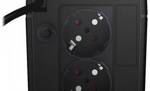 Lestar UPS SIN-630ES SINUS LCD 2xSCH USB RJ 11 BL