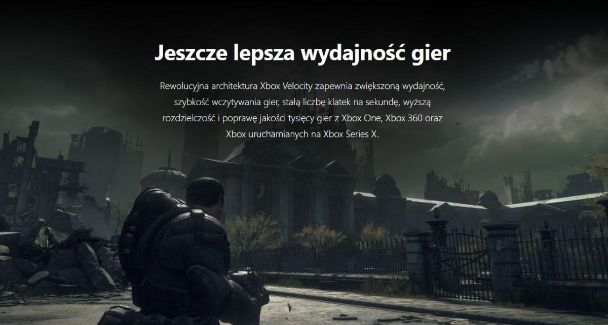 Wydajność Xbox Series X
