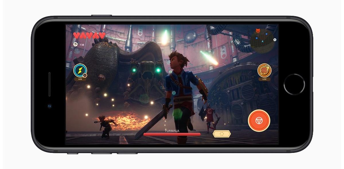 iPhone SE (2020) Apple A13 Bionic obsłuży nawet najbardziej wymagające gry