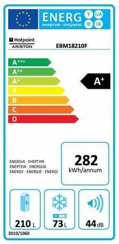 Hotpoint Ariston EBM 18210 F chłodziarko-zamrażarka
