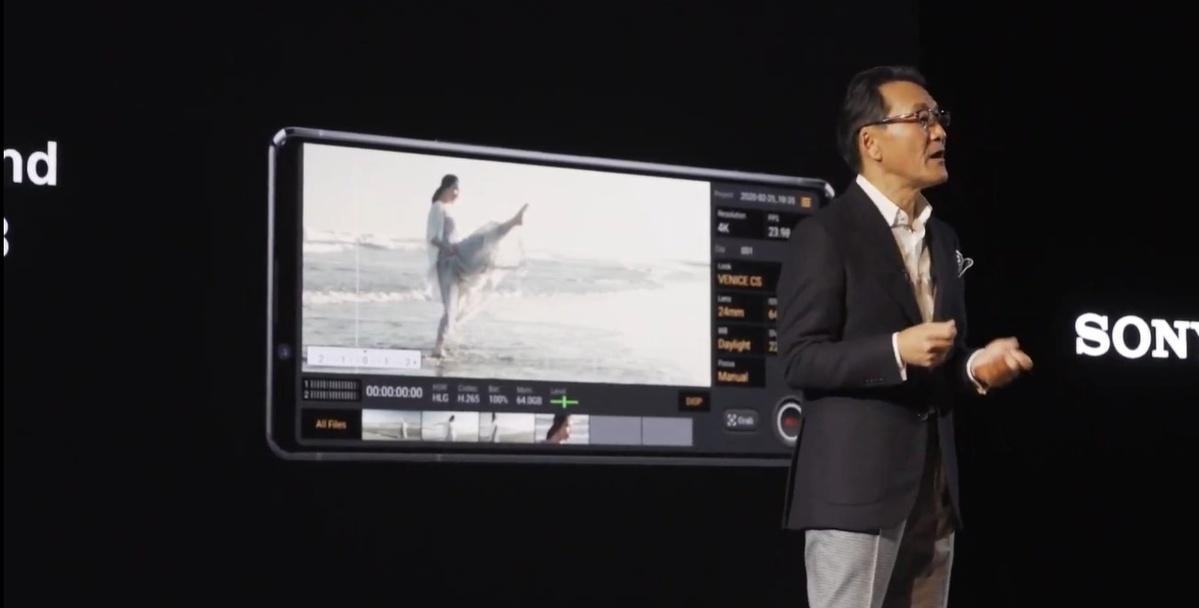 Sony stworzyło dedykowane aplikacje do nagrywania i robienia zdjęć