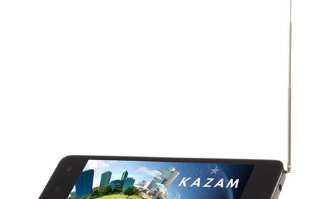 KAZAM TV 4.5 - Smartfon Z Telewizją Cyfrową