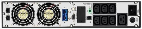 Lestar UPS OTRT-3000 XL Sinus LCD RT 7xIEC USB RS RJ 45