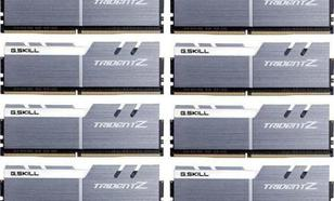 G.Skill Trident Z DDR4, 8x8GB, 4000MHz, CL19 (F4-4000C18Q2-64GTZSW)